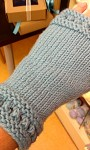 Fingerless Gloves Knitting Project